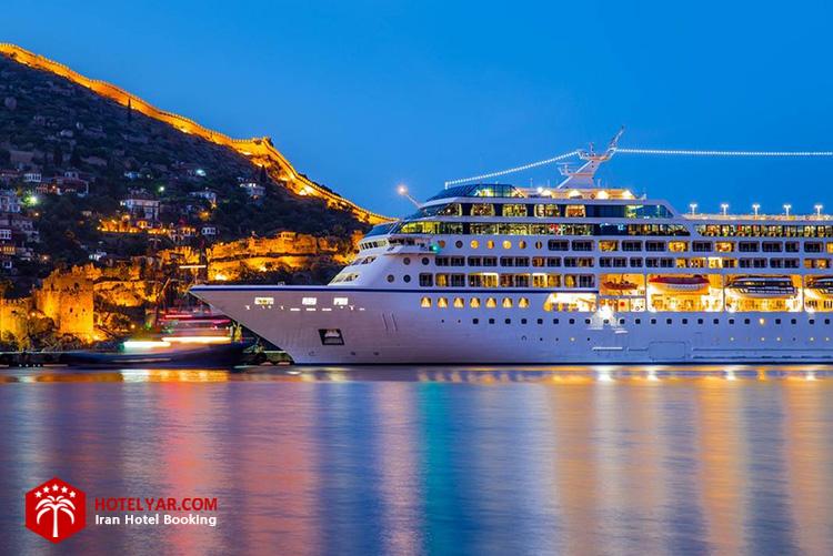 رزرو کشتی کروز به هنگام سفر دریایی