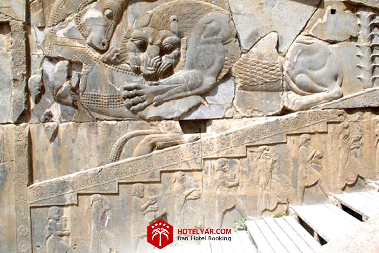کاخ هدیش که زمانی کاخ خصوصی خشایار شاه  در شیراز