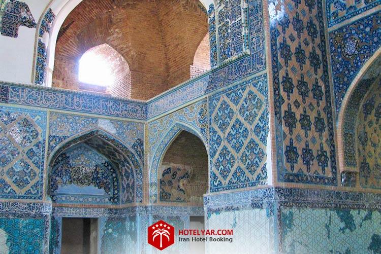 مسجد کبود تبریز از جاهای دیدنی شهر تبریز