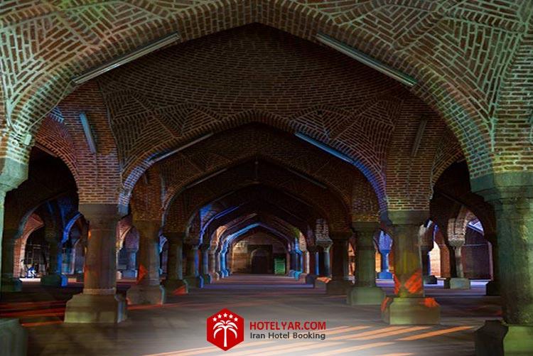مسجد جامع، از جاهای دیدنی تبریز