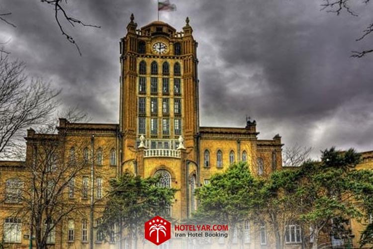 کاخ شهرداری تبریز، زیباترین جاهای دیدنی شهر