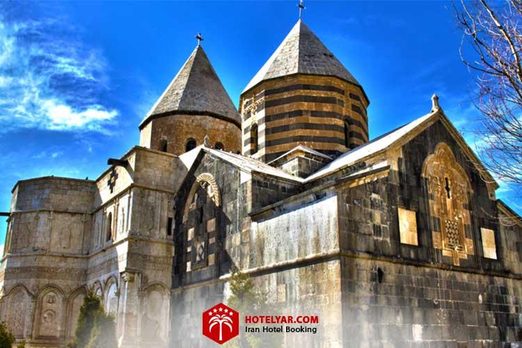 کلیسای سیاه از کلیساهای معروف تبریز