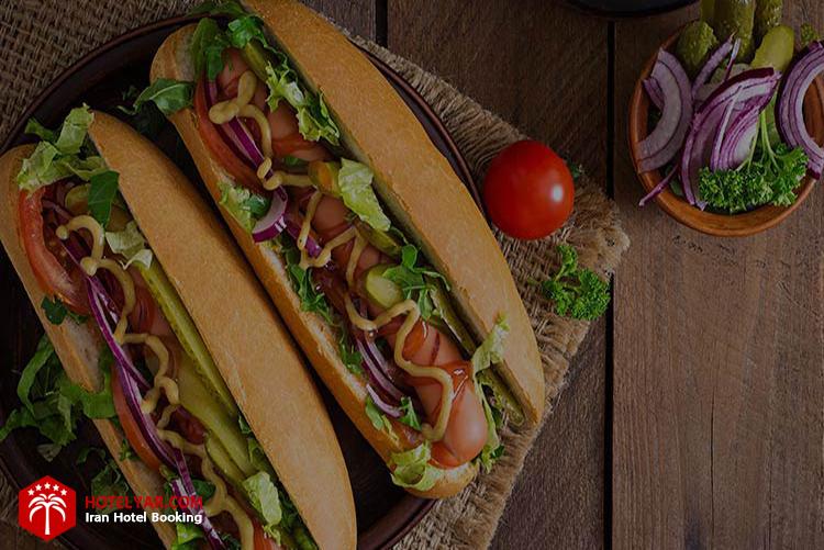 تصویر غذای فست فود بیگ لند تبریز از بهترین رستوران های تبریز