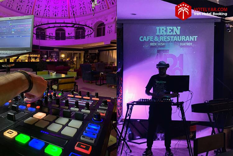 تصویر برگزاری موسیقی زنده در کافه رستوران ایرن