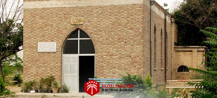 کلیسا مریم ننه از کلیساهای معروف تبریط