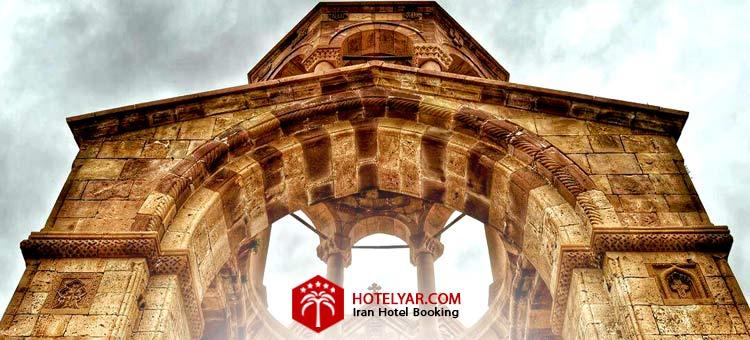 کلیسا سنت استپانوس مقدس از کلیساهای معروف تبریز
