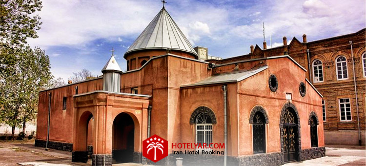 تصویر ساختمان کلیسا مریم مقدس تبریز