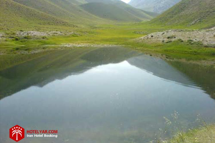عکس دریاچه دریوک از جاهای دیدنی چالوس