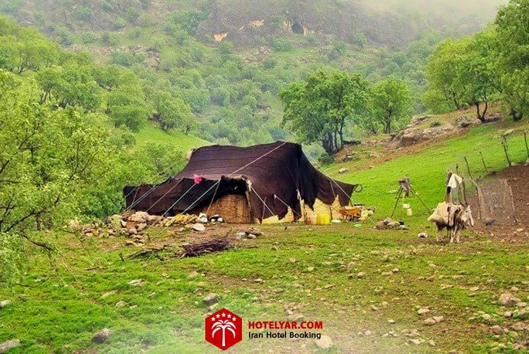 چادر عشایر ایرانی