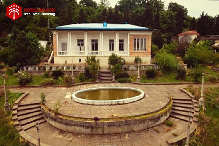 کاخ چای خوران از جاهای دیدنی چالوس و مازندران