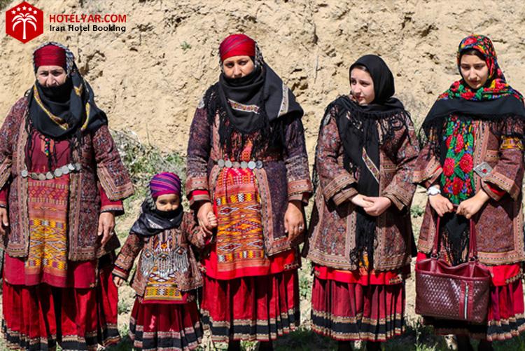 لباس محلی روستا های مشهد