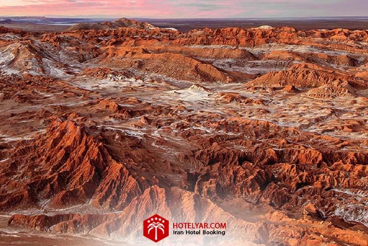 تصویر کوه های مریخی استان چابهار