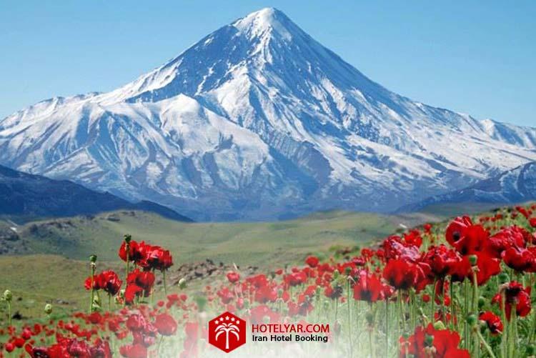 تصویر کوه سبلان از مرتفع ترین کوه های ایران