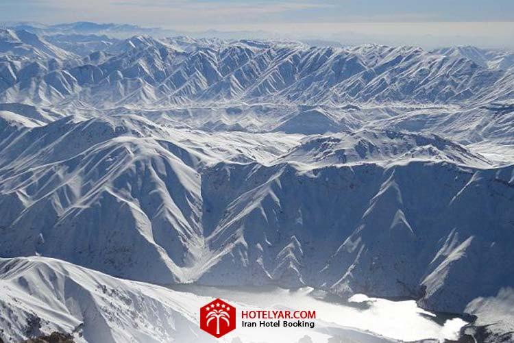 تصویر اشترانکوه از مرتفع ترین کوه های ایران