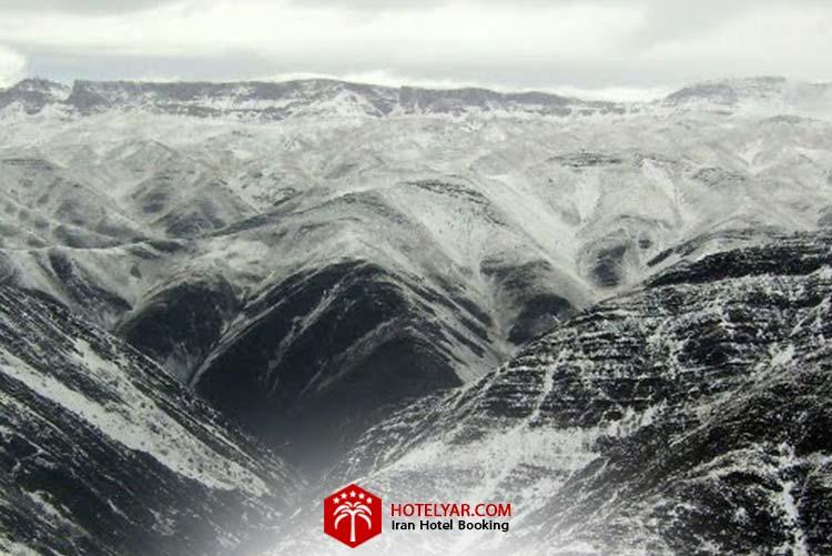 تصویر کوه بینالود از کوه های شمالی ایران
