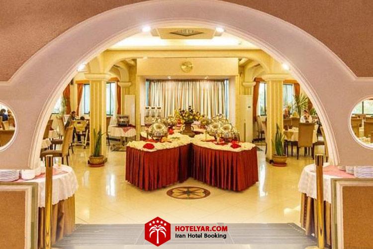 تصویر رستوران هتل آریان کیش 2