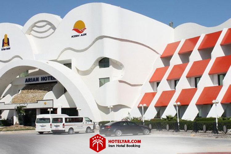 ساختمان هتل آریان کیش، اقتصادی ترین هتل کیش